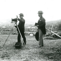 Elmer and Arthur with their Ideal Camera