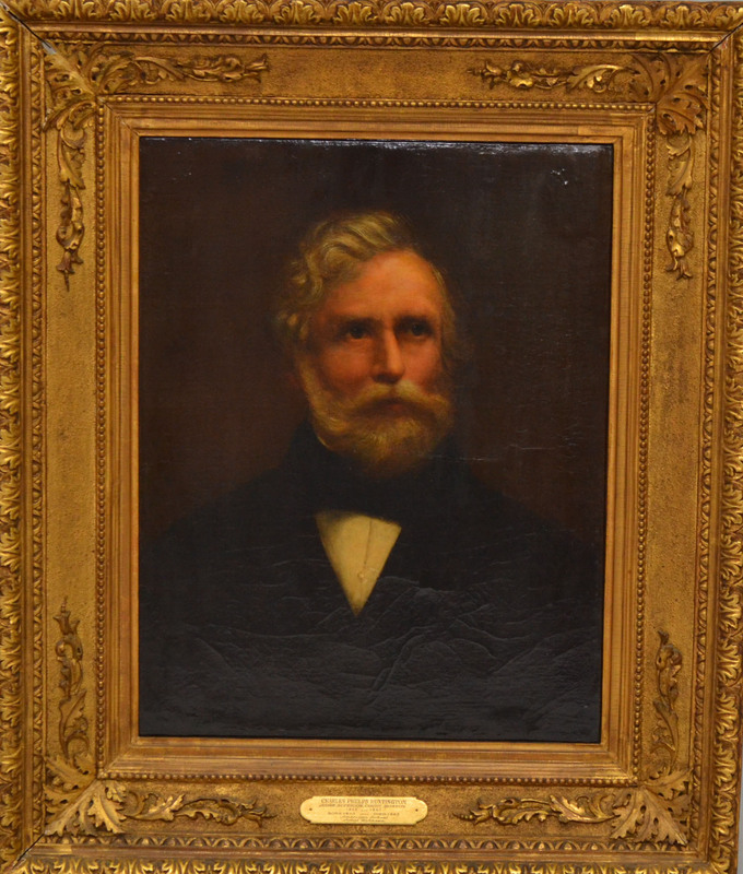 Oil Portrait of Charles Phelps Huntington