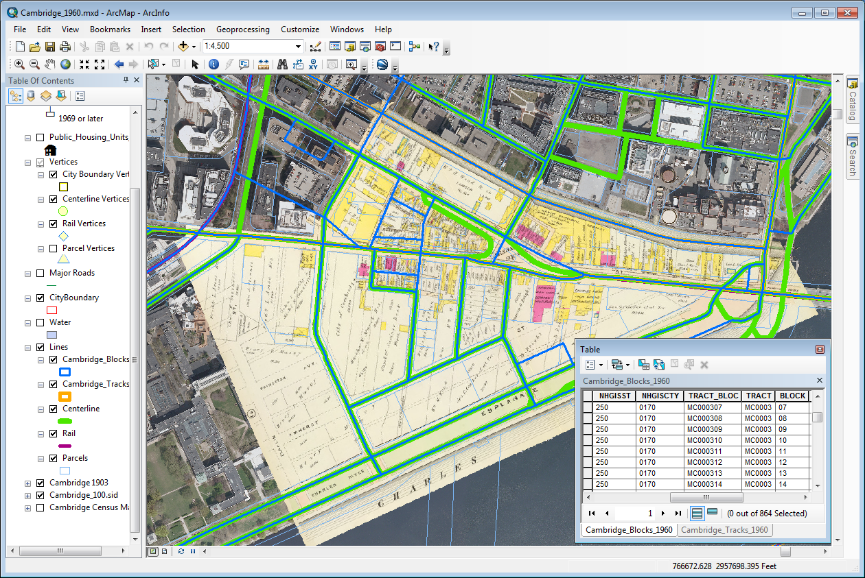 Amherst college it gis introduction to gis for Spatial analysis architecture